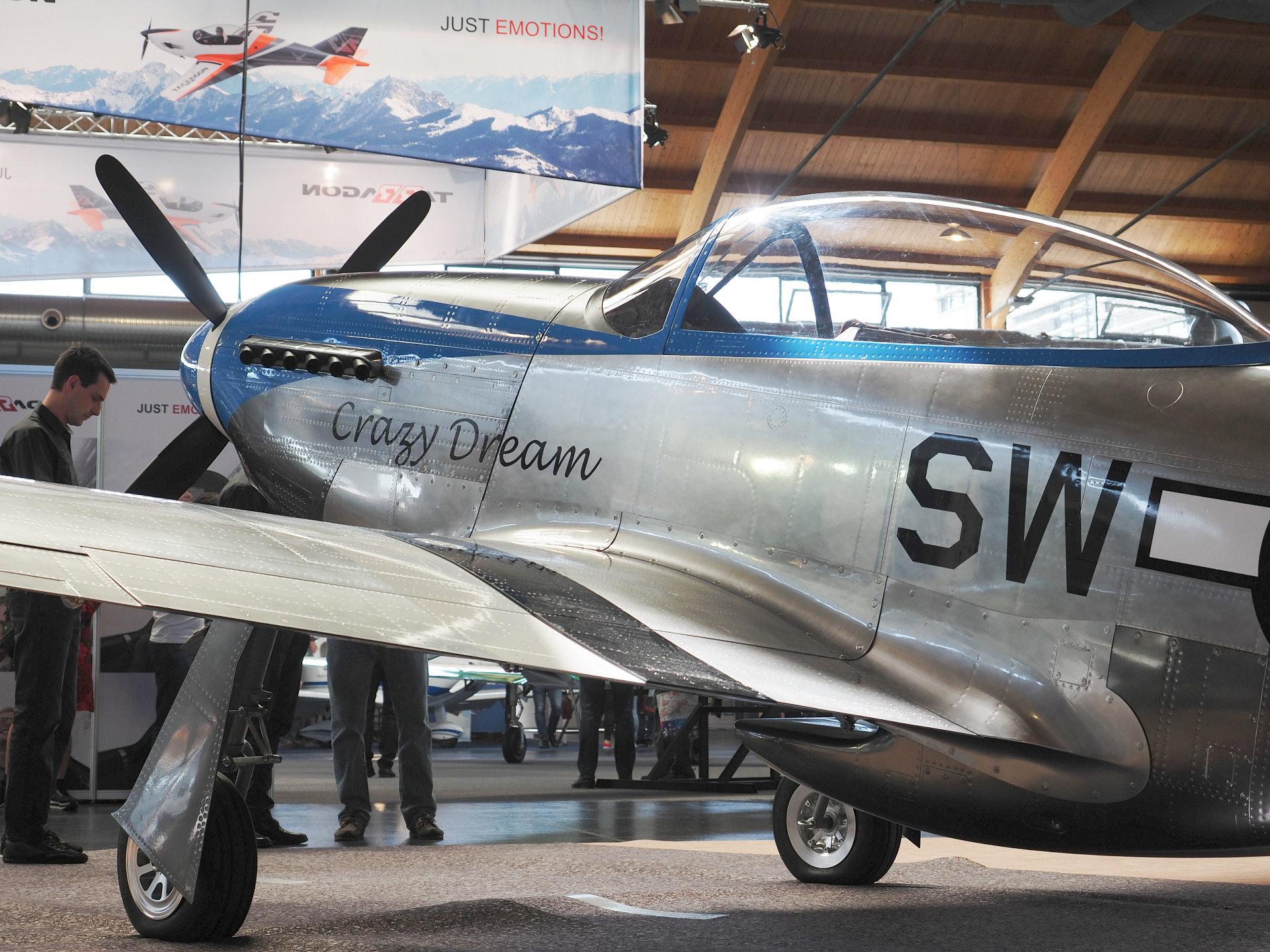 SW-51 Mustang | ScaleWings - Flugtaugliche Nachbauten historischer