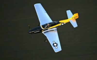 Mustang airborne